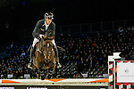Gregory Wathelet of Belgium riding Eldorado van het Vijverhof competes during the EEM Trophy, part of the Longines Masters of Hong Kong on 10 February 2017 at the Asia World Expo in Hong Kong, China. Photo by Marcio Rodrigo Machado / Power Sport Images