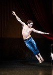 English National Ballet. Le Jeune Homme et la Mort. <br /> Coliseum Theatre, London, UK;<br /> Ivan Vasiliev;
