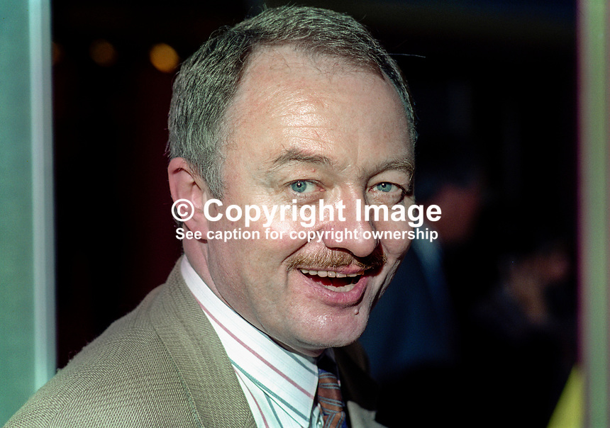 Ken Livingstone, MP, Labour Party, Britain, UK, 199410006.<br /> <br /> Copyright Image from Victor Patterson, 54 Dorchester Park, <br /> Belfast, UK, BT9 6RJ<br /> <br /> t1: +44 28 9066 1296 (from Rep of Ireland 048 9066 1296)<br /> t2: +44 28 9002 2446 (from Rep of Ireland 048 9002 2446)<br /> m: +44 7802 353836<br /> <br /> e: victorpatterson@me.com<br /> www.victorpatterson.com<br /> <br /> Please see my Terms and Conditions of Use at www.victorpatterson.com. It is IMPORTANT that you familiarise yourself with them.<br /> <br /> Images used on the Internet must be visibly watermarked i.e. &copy; Victor Patterson<br /> within the body of the image and copyright metadata must not be deleted. Images <br /> used on the Internet have a size restriction of 4kbs and will be chargeable at current<br />  NUJ rates unless agreed otherwise.<br /> <br /> This image is only available for the use of the download recipient i.e. television station, newspaper, magazine, book publisher, etc, and must not be passed on to any third <br /> party. It is also downloaded on condition that each and every usage is notified within 7 days to victorpatterson@me.com<br /> <br /> The right of Victor Patterson to be identified as the author is asserted in accordance with The Copyright Designs And Patents Act (1988). All moral rights are asserted
