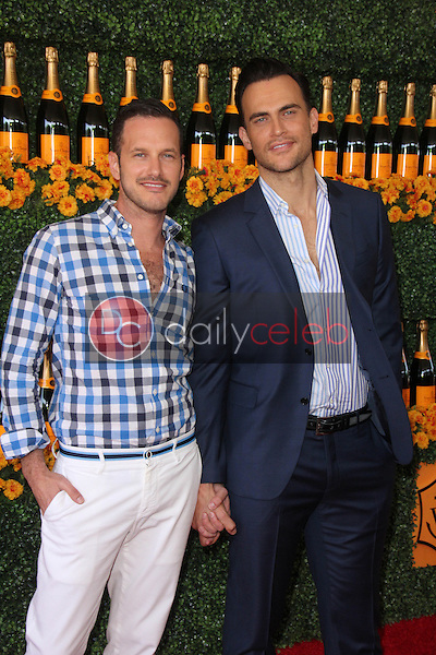 Cheyenne Jackson, Jason Landau<br /> at the Sixth-Annual Veuve Clicquot Polo Classic, Will Rogers State Historic Park, Pacific Palisades, CA 10-17-15<br /> David Edwards/Dailyceleb.com 818-249-4998
