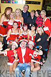 Christmas Time - Santa's Little Helpers spreading Xmas cheer in McElligot's Bar, Ardfert on Saturday night. Front l/r Andrea Hogan, Donal Flaherty and Michelle Clifford, centre l/r Maura O'Connor, Amy McGiff, Niamh Shanahan, and Joanne Coffey, back l/r Katie Dowling, Tonya McGowan, Sinead Dowling, Dan & Marian Flaherty, Irene Horgan and Linda Murphy.................................................................................................. ............   Copyright Kerry's Eye 2008