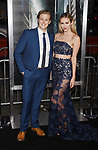 HOLLYWOOD, CA - OCTOBER 16: Actor Blake Burt (L) and model/actress Mackenzie Lawren attend the premiere of Warner Bros. Pictures' 'Geostorm' at the TCL Chinese Theatre on October 16, 2017 in Hollywood, California.