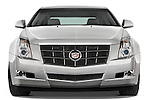 Straight front view of a 2008 Cadillac CTS sedan