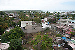 In puerto ayora galapagos the building is going on every day. Every day more bricks are laid and buildings are getting higher and higher. Rapidly this little village turns into a little town that never sleeps