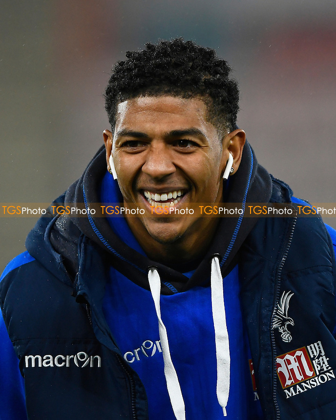Crystal Palace new signing Patrick van Aanholt during AFC Bournemouth vs Crystal Palace, Premier League Football at the Vitality Stadium on 31st January 2017