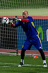 Spainsh Pepe Reina during the training of the spanish national football team in the city of football of Las Rozas in Madrid, Spain. November 08, 2016. (ALTERPHOTOS/Rodrigo Jimenez)