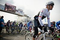 Fabian Cancellara (SUI/TREK Factory Racing) at the start<br /> <br /> 58th E3 Harelbeke 2015