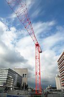 Nederland  Utrecht  2016. Public Works. Publieke kunstwerken rondom Centraal station. Gone With The Wind van kunstenaarsduo HeHe. Foto Berlinda van Dam / Hollandse Hooogte.