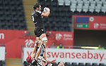 8 September 2012; Jonathan Thomas..Celtic League, Round 2, Ospreys v Ulster, Liberty Stadium, Swansea, Wales. Picture credit: Steve Pope / SPORTSFILE