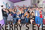 Neil O'Sullivan, Ballyseedy, celebrating his 18th Birthday with family and friends at the Greyhound Bar on Saturday
