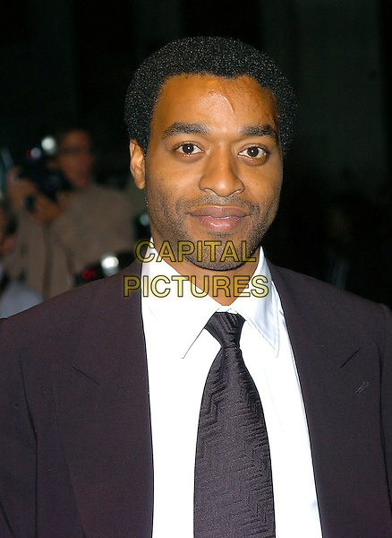 "CHIWETEL EJIOFOR.UK Premiere of ""Serenity"" at Odeon Leicester Square, London..October 5th, 2005.Ref: CAN.headshot portrait.www.capitalpictures.com.sales@capitalpictures.com.©Capital Pictures"