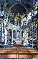 Wurzburg: Wurzburg Palace. Das Innere der Hofkirche.