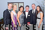 KERRY ROSE 2010: Kerry Rose 2010 Veronica Hunt with TV presenter Da?ithi? O? Se? at the Ballyroe Heights hotel on Saturday l-r: Paudie Murphy (Escort 2010), Kerry Rose 2010 Veronica Hunt, Anthony and Oonagh O'Gara, Da?ithi? O? Se? and Rita Talty.