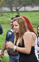 Rio de Janeiro(RJ) 25.06.2012. Policial Militar/Sepultamemto. -Sepultamento do policial militar o sargento Claúdio Gome Pereira de 41anos lotado no (CRSP)Centro de Recrutamento e Seleção de Praça.Foi morto num arrastão na Rua Dega,altura do nº400 no Cachambi,na Zona Norte do Rio de Janeiro.Onde foi sepultado no Cemitério Jardim da saudade em Sulacap,Zona Oeste do Rio.Foto:Arion Marinho/Brazil Photo Press.