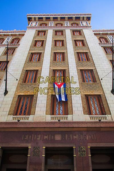 Art Deco Edificio Bacardi, Bacardi Building, Havana, La Habana Vieja, Cuba