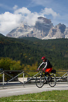 Vermont Bicycle Tours trip through Verona to Venice including the Dolomite Valleys