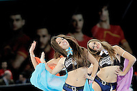 23rd Men's Handball World Championship cheerleaders 15,2013. (ALTERPHOTOS/Acero) /NortePhoto