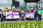 People Power<br /> -------------------<br /> People Before Profit held a protest in Tralee last Saturday afternoon to highlight the need to legalise Cannabis for medical treatments, starting at the Horan centre and heading down to the town centre.