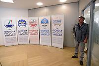 Roma 6 Maggio 2016<br /> Le Liste in appoggio a Giorgia Meloni.<br /> Presentazione delle liste a sostegno di Giorgia Meloni a Sindaca di Roma<br /> ROME, ITALY - May 06: <br /> Lists in support of Giorgia Meloni.<br /> Presentation of the lists in support of Giorgia Meloni to mayor of Rome at the headquarters of the electoral campaign.<br /> on May 6, 2016 in Rome, Italy.