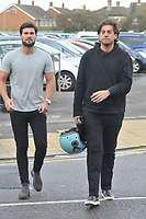 Dan Edgar &amp; James Argent<br /> arriving for filming for the Towie Diwali party at sugar hut brentwood essex <br /> <br /> &copy;Richard Open snappers