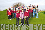 Bernie O'Sullivan (Lady Captain), Margaret Moriarty (President) and Tim O'Mahony (Captain) at the Dunloe Golf Club's Captains drive on Saturday.. .   Copyright Kerry's Eye 2008