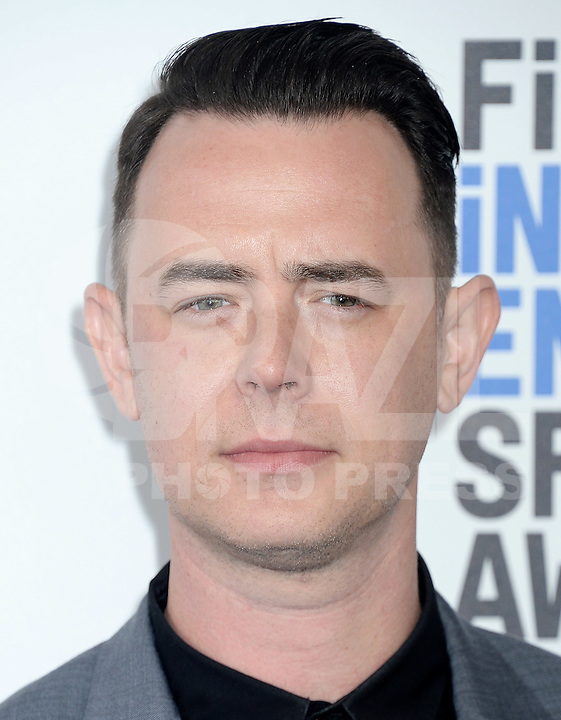 SANTA MONICA, 25.02.20-17 - SPIRIT-AWARDS - Colin Hanks durante Film Independent Spirit Awards em Santa Monica na California nos Estados Unidos (Foto: Gilbert Flores/Brazil Photo Press)