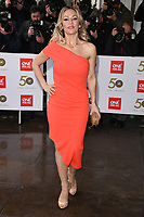 LONDON, UK. March 12, 2019: Kristina Rihanoff arriving for the TRIC Awards 2019 at the Grosvenor House Hotel, London.<br /> Picture: Steve Vas/Featureflash