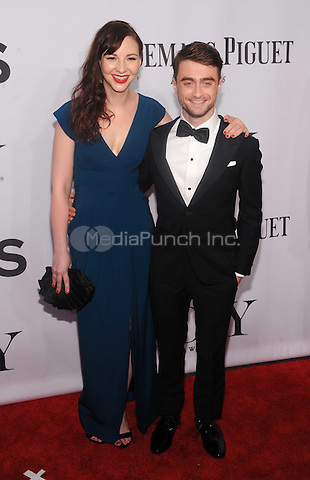 New York, NY- June 5: Daniel Radcliffe and Roseanne Clark attends the  American Theater Wing's 68th Annual Tony Awards  on June 8, 2014 at Radio City Music Hall in New York City. (C) Credit: John Palmer/MediaPunch