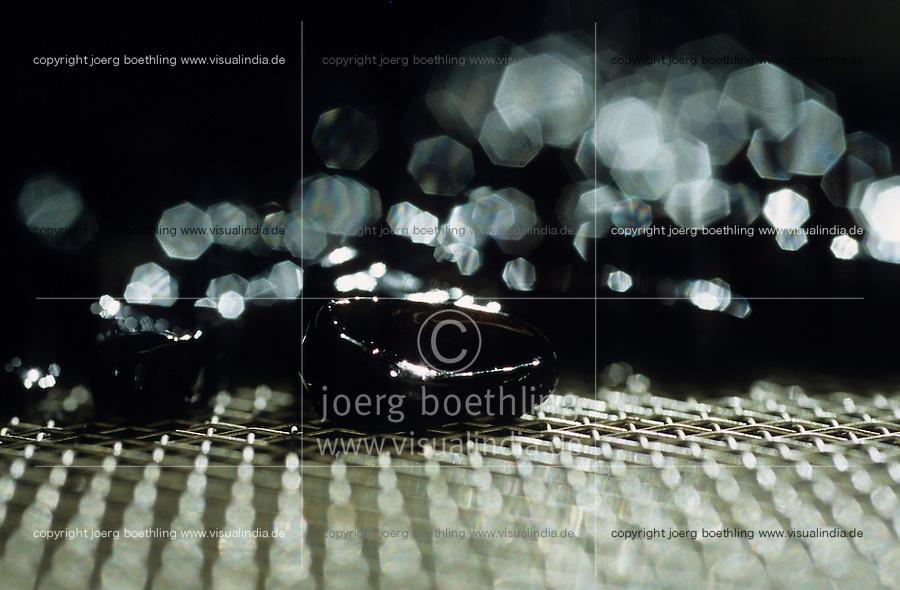 ITALY Calabria Rossano, old liquorice factory Amarelli, pure liquorice production from root of plant Glycyrrhiza glabra / ITALIEN Kalabrien Rossano, alte Lakritz Fabrik Amarelli von 1731, Herstellung von purem Lakritz aus der Suessholzwurzel lat. Glycyrrhiza glabra