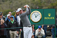 Brandt Snedeker (USA) watches his tee shot on 10 during round 3 of the 2019 US Open, Pebble Beach Golf Links, Monterrey, California, USA. 6/15/2019.<br /> Picture: Golffile | Ken Murray<br /> <br /> All photo usage must carry mandatory copyright credit (© Golffile | Ken Murray)