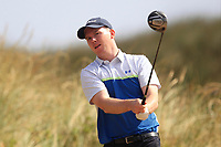 Jonathan McNeill (Galgorm Castle) on the 11th tee during Round 2 - Strokeplay of the North of Ireland Championship at Royal Portrush Golf Club, Portrush, Co. Antrim on Tuesday 10th July 2018.<br /> Picture:  Thos Caffrey / Golffile