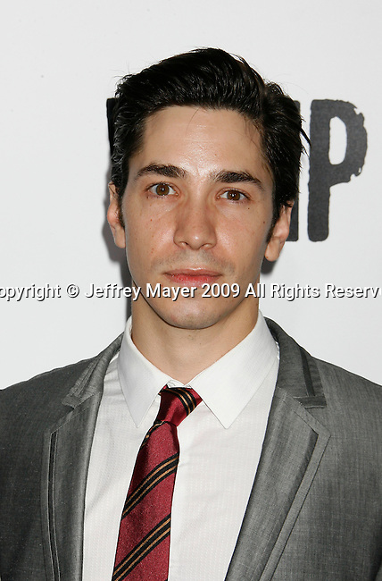 """HOLLYWOOD, CA. - September 29: Justin Long arrives at the Los Angeles premiere of """"Whip It"""" at the Grauman's Chinese Theatre on September 29, 2009 in Hollywood, California."""