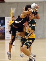 NZ V AUSTRALIA MENS U23 NETBALL 101012