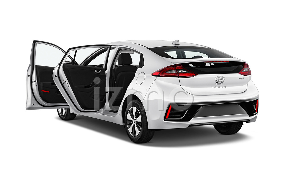 Car images close up view of a 2019 Hyundai Ioniq Plug-In Hybrid Base 5 Door Hatchback doors