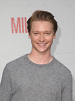 "9 August 2018-  Westwood, California - Calum Worthy. Premiere Of STX Films' ""Mile 22"" held at The Regency Village Theatre. Photo Credit: Faye Sadou/AdMedia"