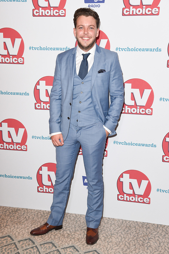 James Diags<br /> arriving for the TV Choice Awards 2017 at The Dorchester Hotel, London. <br /> <br /> <br /> ©Ash Knotek  D3303  04/09/2017