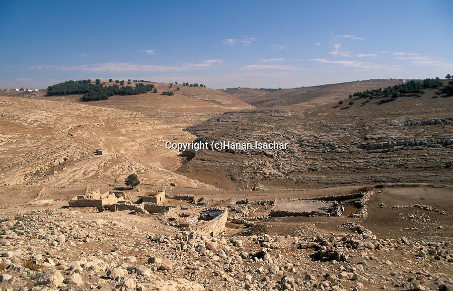 Jordan, landscape near Madaba&#xA;<br />