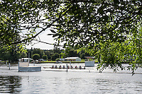 Henley on Thames. United Kingdom.  General View Princeton University Women. training on Henley Reach. Monday,  27/06/2016,   16:43:21   2016 Henley Royal Regatta, Henley Reach.   [Mandatory Credit Peter Spurrier/ Intersport Images]