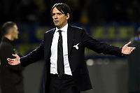 Simone Inzaghi of Lazio reacts during the Serie A 2018/2019 football match between Frosinone and Lazio at stadio Benito Stirpe, Frosinone, February 4, 2019 <br />  Foto Andrea Staccioli / Insidefoto