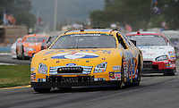 Aug. 8, 2009; Watkins Glen, NY, USA; NASCAR Nationwide Series driver Boris Said during the Zippo 200 at Watkins Glen International. Mandatory Credit: Mark J. Rebilas-