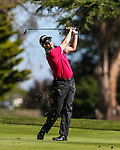 Jonathan Cane. NZ Amateur Stroke Play Championships, Round Four. Shirley Golf Club, Christchurch, New Zealand, Sunday 27 March 2016. Photo: Simon Watts / BWmedia for NZ Golf<br /> All images &copy; NZ Golf and BWMedia.co.nz