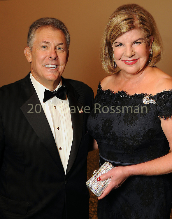 Julia and Russell Frankel at the Museum of Fine Arts Houston 's 2010 Grand Gala Ball  Friday Oct. 01, 2010. (Dave Rossman/For the Chronicle)