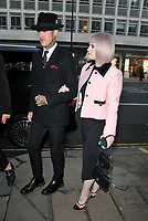 Jimmy Q and Kelly Osbourne at the Royal Academy of Arts Summer Exhibition 2019 preview party, Royal Academy of Arts, Burlington House, Piccadilly, London, England, UK, on Tuesday 04th June 2019.<br /> CAP/CAN<br /> ©CAN/Capital Pictures