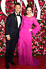 Laura Osnes and husband  arrives at The 72nd Annual Tony Awards on June 10, 2018 at Radio City Music Hall in New York, New York, USA. <br /> <br /> photo by Robin Platzer/Twin Images<br />  <br /> phone number 212-935-0770