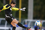 11 October 2007: Duke's Allison Lipsher. The University of North Carolina Tar Heels defeated the Duke University Blue Devils 2-1 at Fetzer Field in Chapel Hill, North Carolina in an Atlantic Coast Conference NCAA Division I Women's Soccer game.