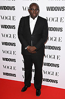 "Edward Enninful<br /> arriving for the ""Widows"" special screening in association with Vogue at the Tate Modern, London<br /> <br /> ©Ash Knotek  D3457  31/10/2018"