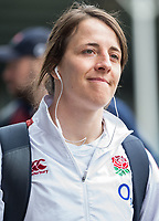 England Women's Katy Daley-Mclean arrives at the ground<br /> <br /> Photographer Bob Bradford/CameraSport<br /> <br /> 2020 Women's Six Nations Championship - England v Wales - Saturday 7th March 2020 - The Stoop - London<br /> <br /> World Copyright © 2020 CameraSport. All rights reserved. 43 Linden Ave. Countesthorpe. Leicester. England. LE8 5PG - Tel: +44 (0) 116 277 4147 - admin@camerasport.com - www.camerasport.com