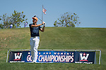 April 13, 2015; Ventura, CA, USA; Pepperdine Waves golfer Anthony Cecere during the WCC Golf Championships at Saticoy Country Club.