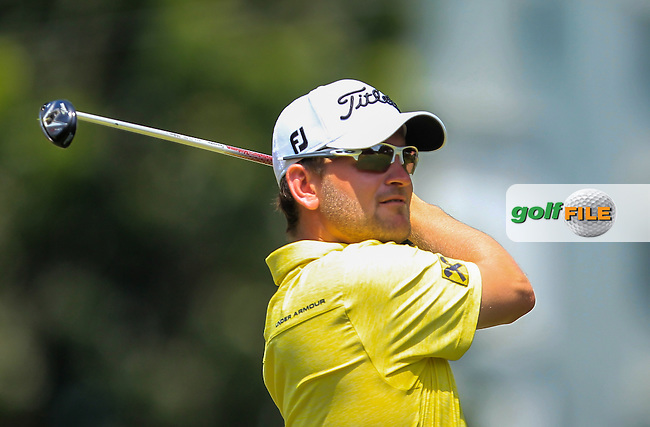 Bernd Wiesberger (GER) on the 6th tee during Round 2 of the Maybank Championship on Friday 10th February 2017.<br /> Picture:  Thos Caffrey / Golffile<br /> <br /> All photo usage must carry mandatory copyright credit     (&copy; Golffile | Thos Caffrey)