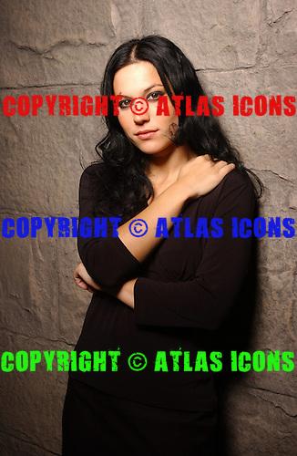 Lacuna Coil; Cristina Scabbia; Studio Portrait Session, In New York City,<br /> Photo Credit: Eddie Malluk/Atlas Icons.com